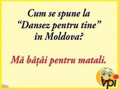 Dansez pentru tine in Moldova
