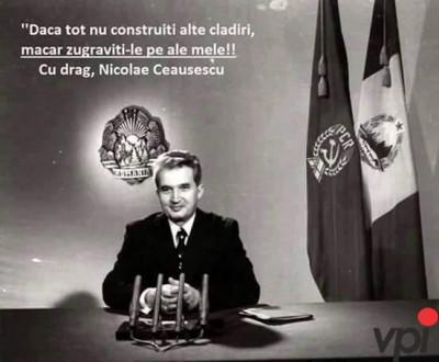 Mesaj de la Ceausescu