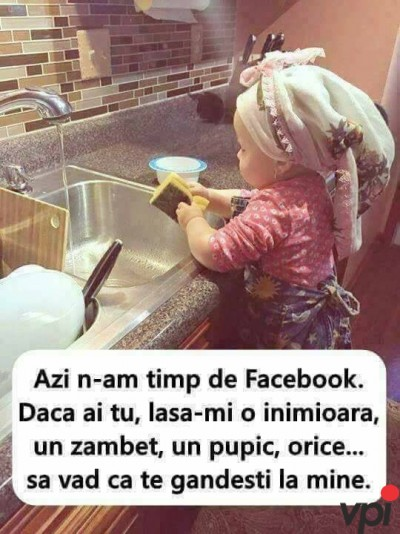N-am timp de Facebook!