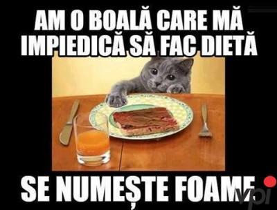 Nu pot sa tin dieta!