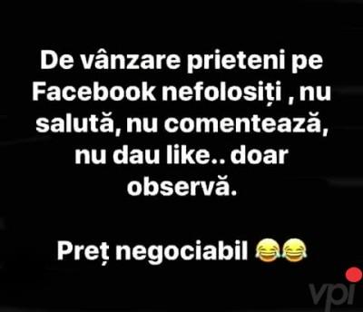 Prietenii de pe Facebook