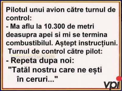 Probleme cu avionul