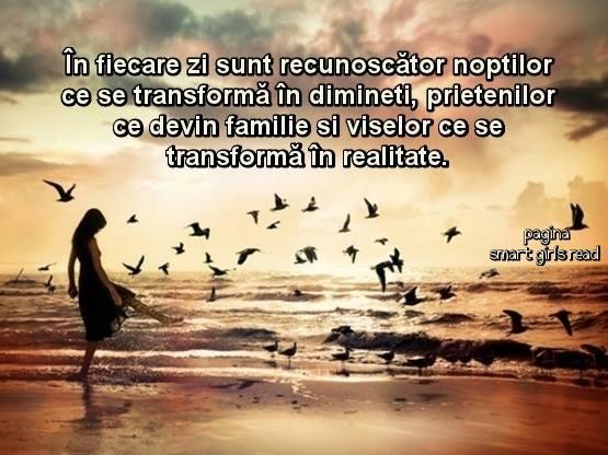 Visele se transforma in realitate