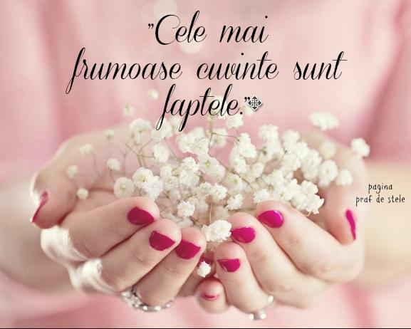 Cele mai frumoase cuvinte
