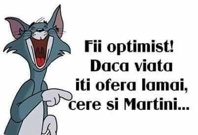 Fii optimist!