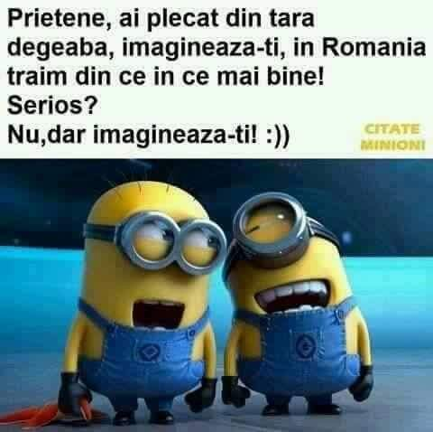 In Romania se traieste bine!