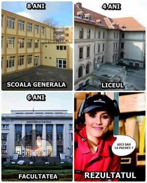 La ce ajuta educatia in Romania