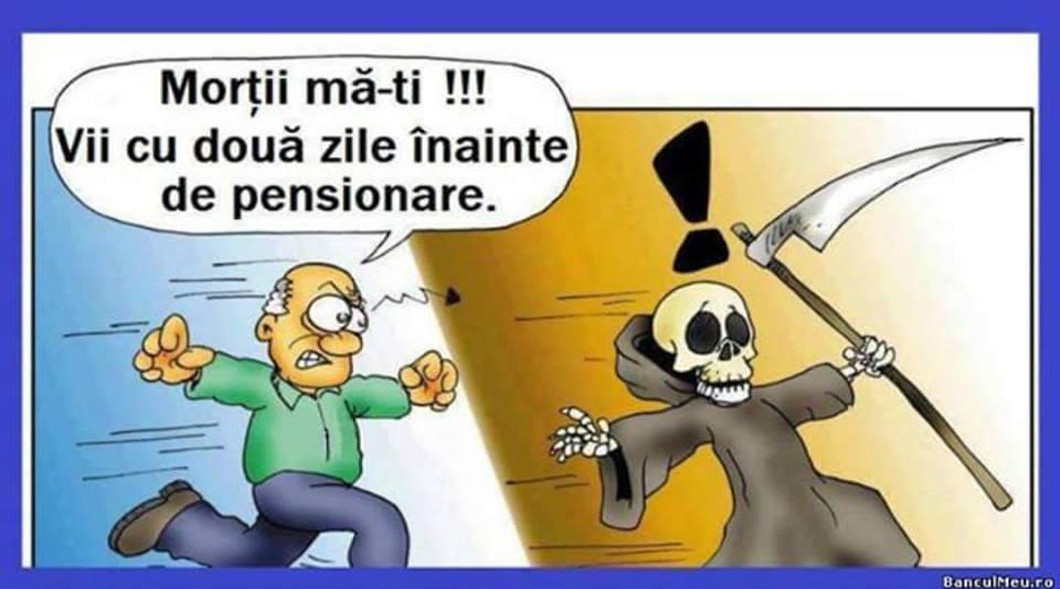 Moarte inainte de pensie