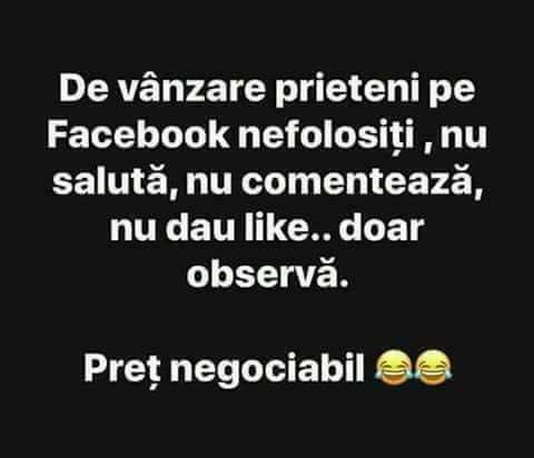 Prietenii inactivi pe Facebook