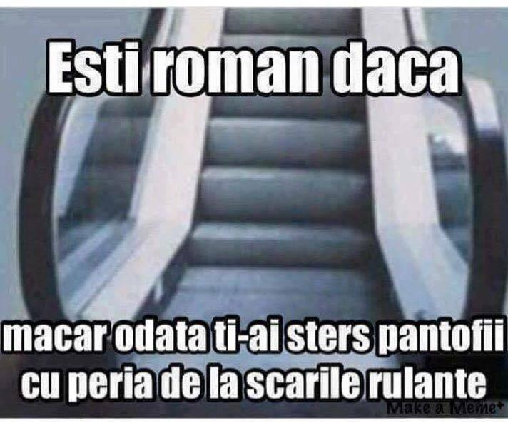 Sunt roman!