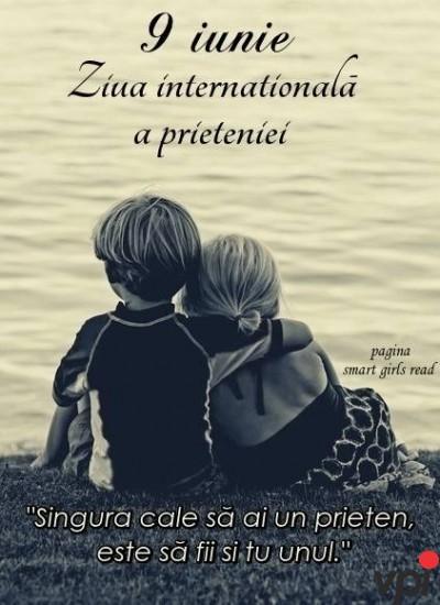 9 Iunie - ZIua internațională a prieteniei