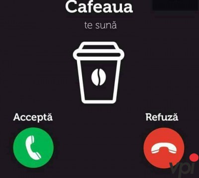 Am nevoie de o cafea!