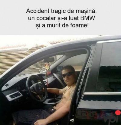 Cocalar cu BMW