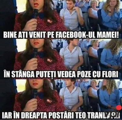 Contul de facebook al mamei