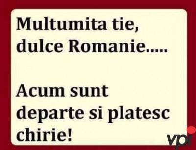 Departe de Romania