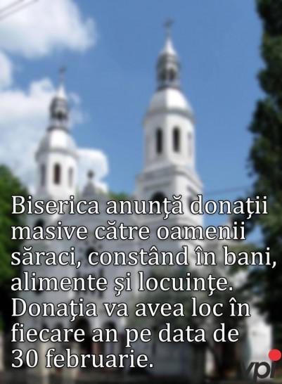Donatii de la Biserica