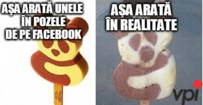 Facebook vs Realitate