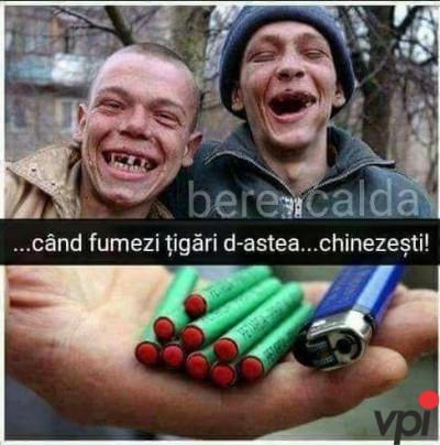 Fumatul strica dintii!