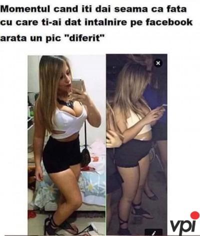 Intalnire pe Facebook