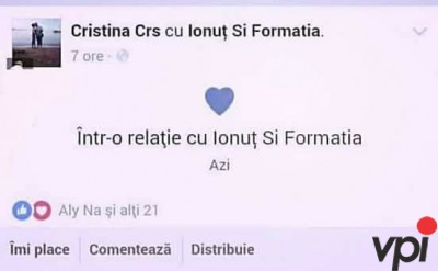Intr-o relatie pe Facebook