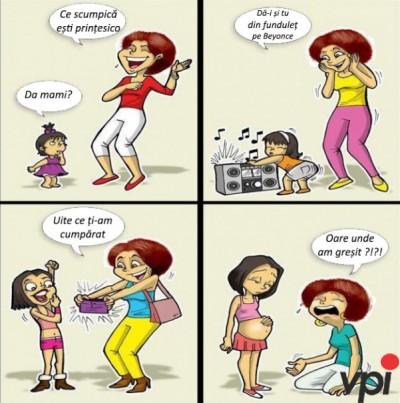 Mamele de fete