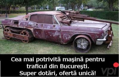 Masina potrivita pentru drumurile din Romania!