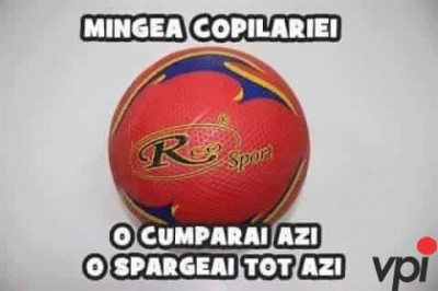 Mingea in copilarie