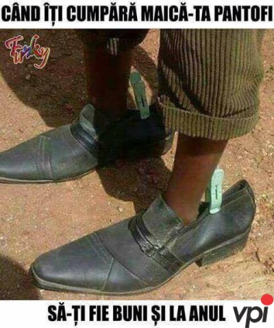 Pantofi buni