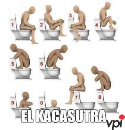Pozitii pe WC