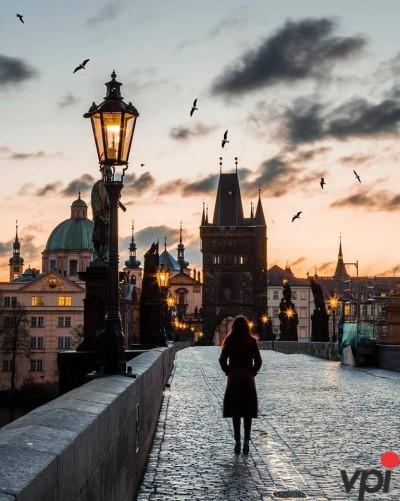 Praga la ceas de seară