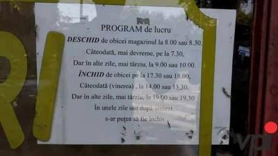 Program de lucru