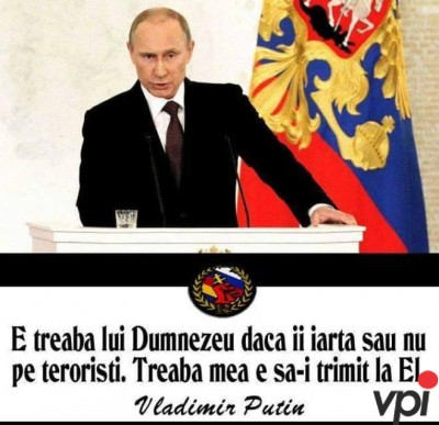 Putin si teroristii