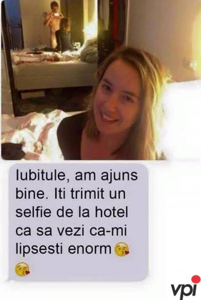 Selfie de la iubita