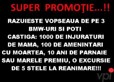 SUPER PROMOTIE!