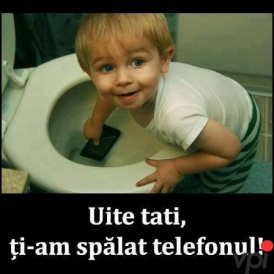 Telefonul la spalat