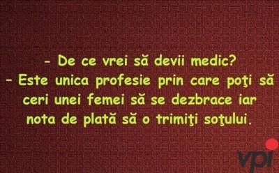 Vreau sa ma fac doctor!