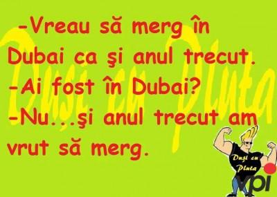 Vreau sa merg in Dubai!