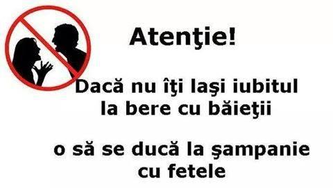Atentie fetelor!