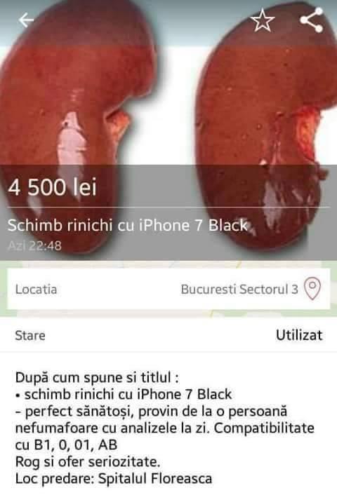 Cand vrei sa-ti cumperi iPhone