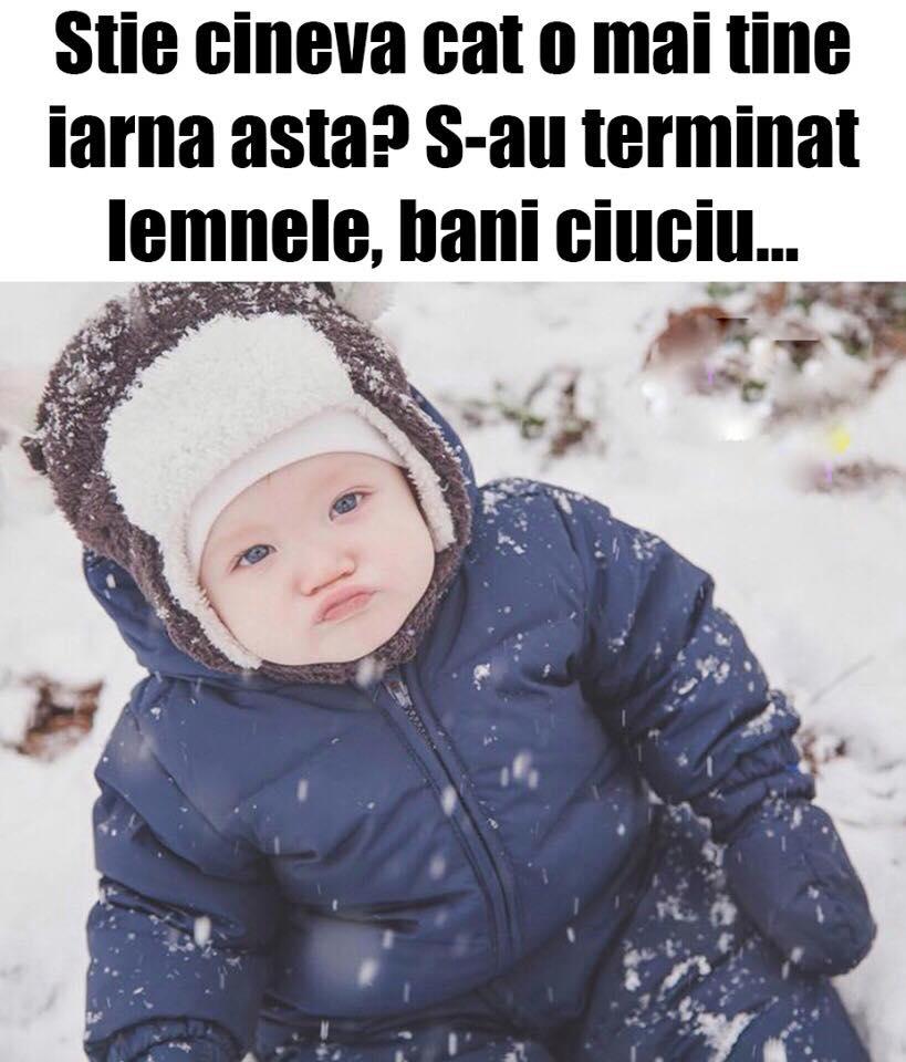 Cat mai tine iarna asta?