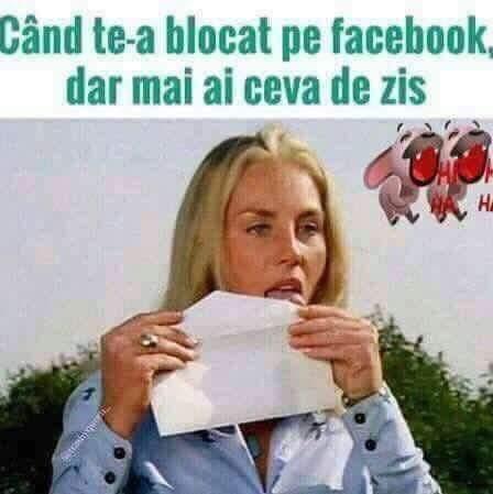 Ce faci daca te-a blocat pe Facebook