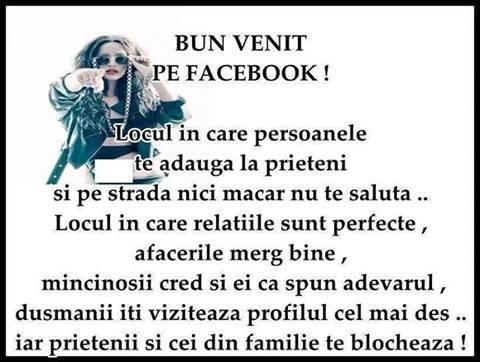 Ce gasesti pe Facebook