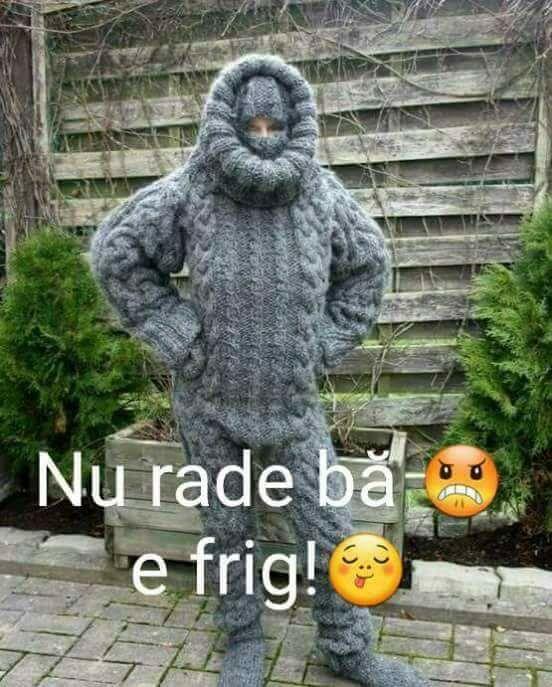 Cum ma imbrac cand e frig
