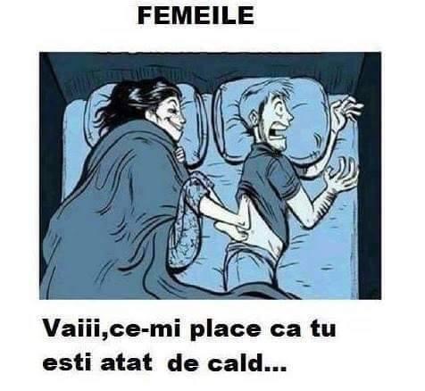 Femeile in pat