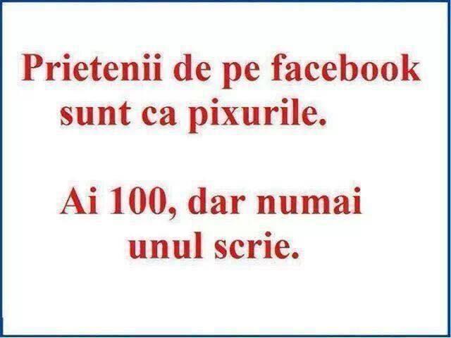Prietenii mei, pe Facebook