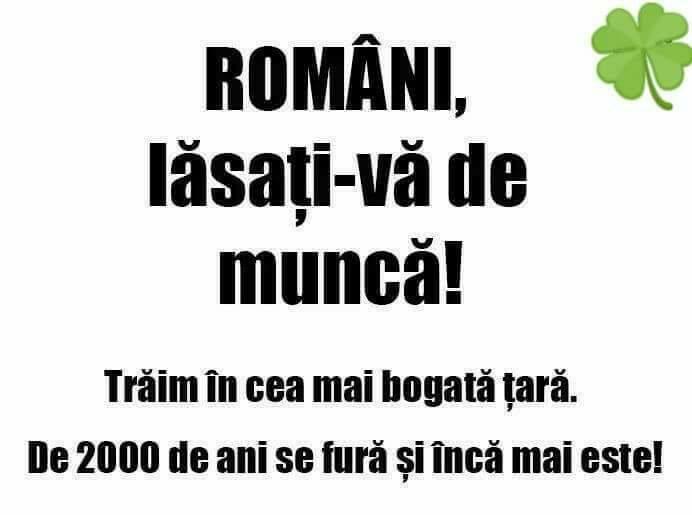 Romania, cea mai bogata tara!