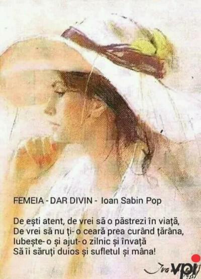 FEMEIA- DAR DIVIN