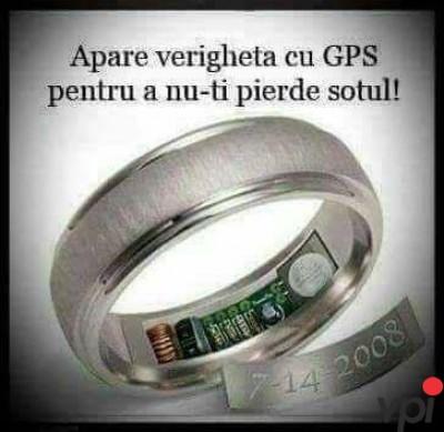 Verigheta cu GPS