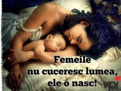 Femeile nasc lumea