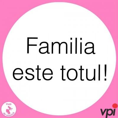 Familia este totul!